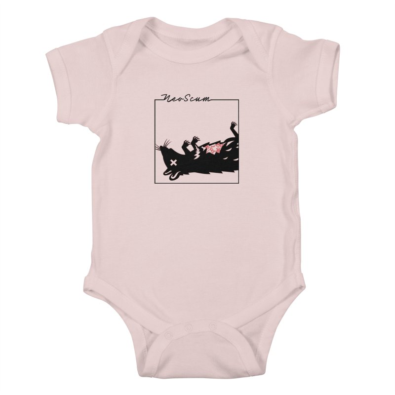 ratcandy (Black) Kids Baby Bodysuit by NeoScum Shop