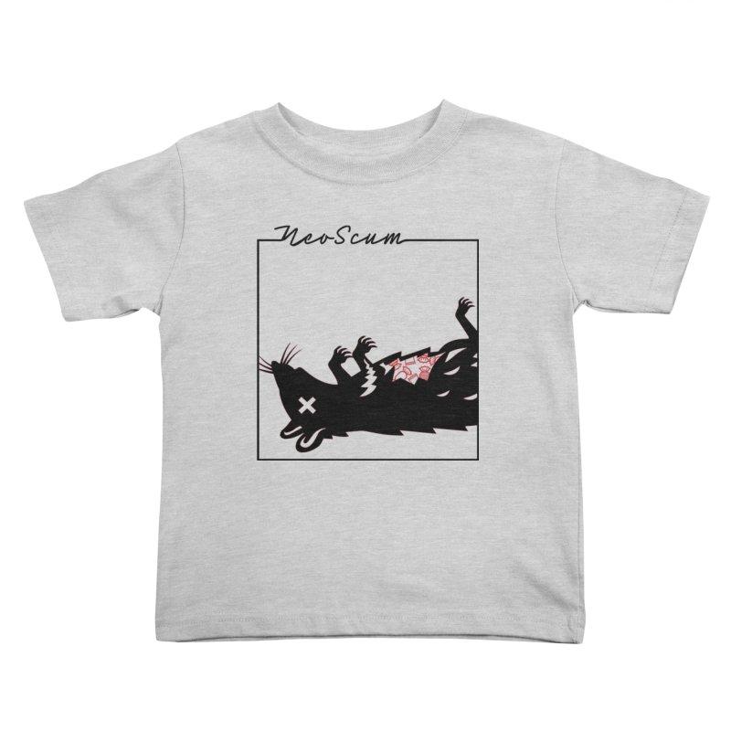 ratcandy (Black) Kids Toddler T-Shirt by NeoScum Shop