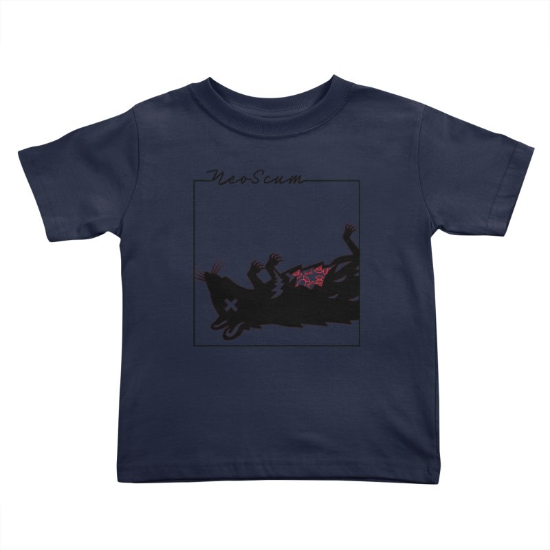 ratcandy (Black) Kids Toddler T-Shirt by NeoScum Shop