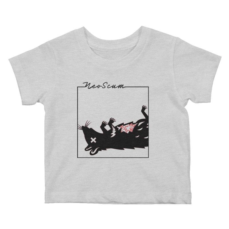 ratcandy (Black) Kids Baby T-Shirt by NeoScum Shop