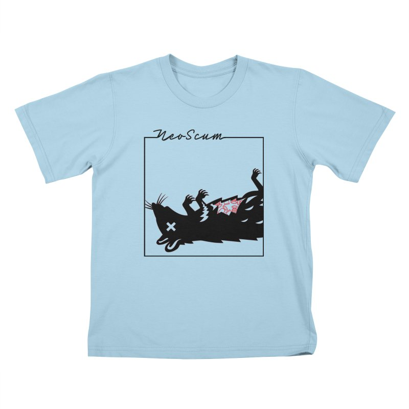 ratcandy (Black) Kids T-Shirt by NeoScum Shop