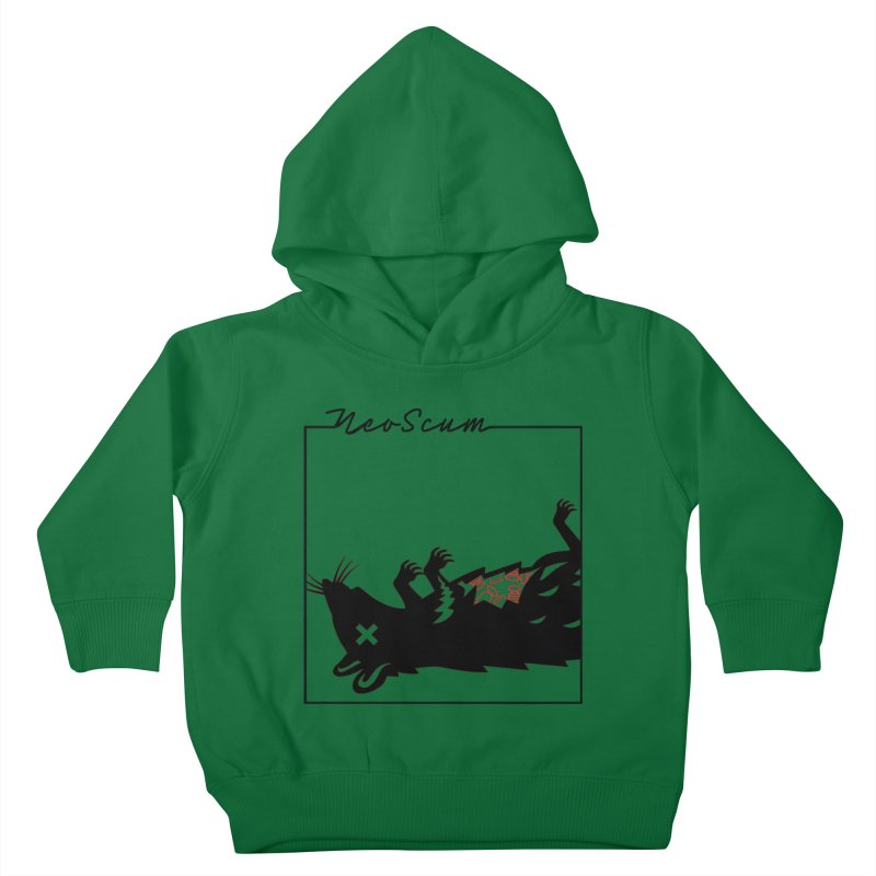 ratcandy (Black) Kids Toddler Pullover Hoody by NeoScum Shop