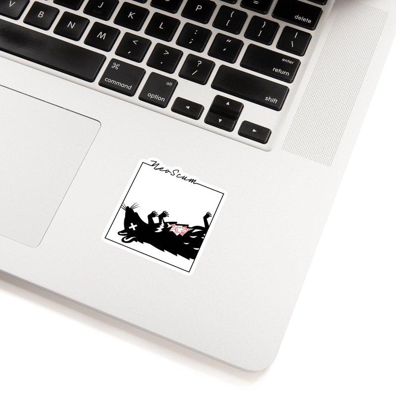 ratcandy (Black) Accessories Sticker by NeoScum Shop