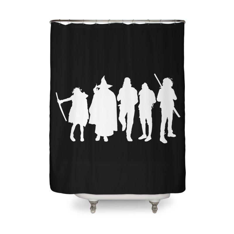 NeoScum Spirits Home Shower Curtain by NeoScum Shop