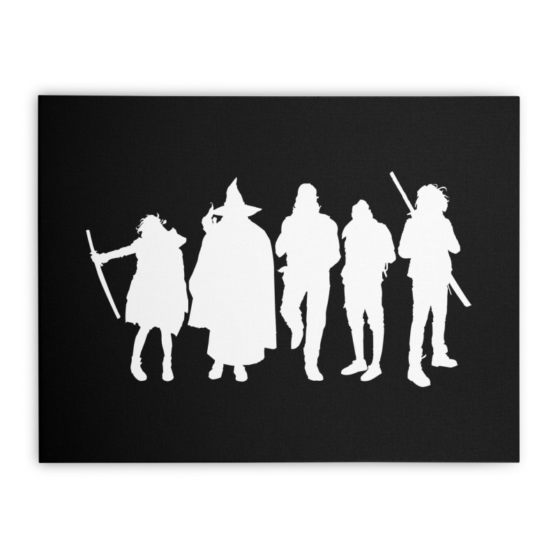 NeoScum Spirits Home Stretched Canvas by NeoScum Shop