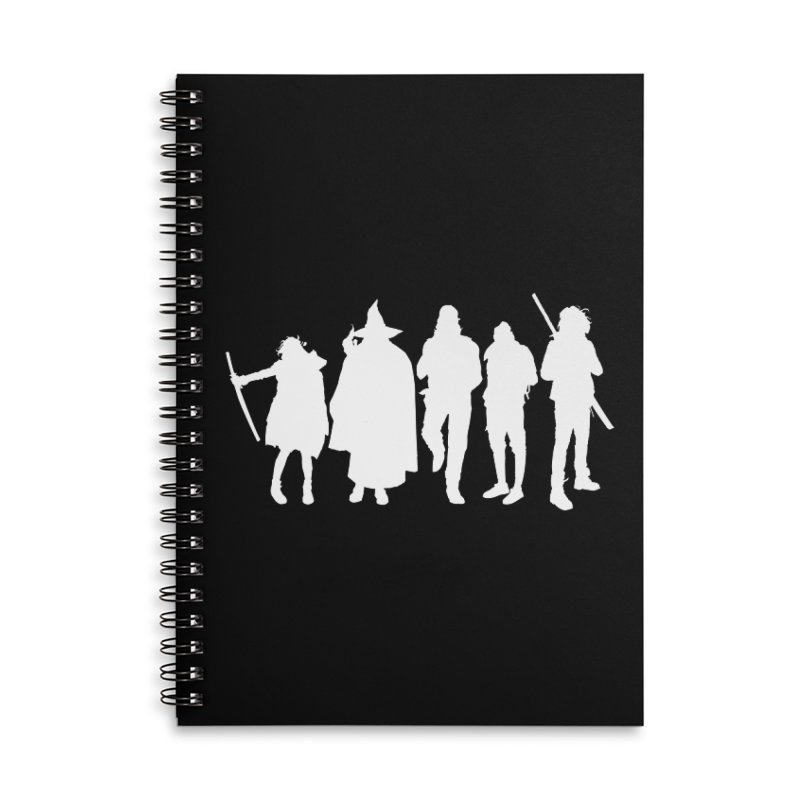 NeoScum Spirits Accessories Lined Spiral Notebook by NeoScum Shop