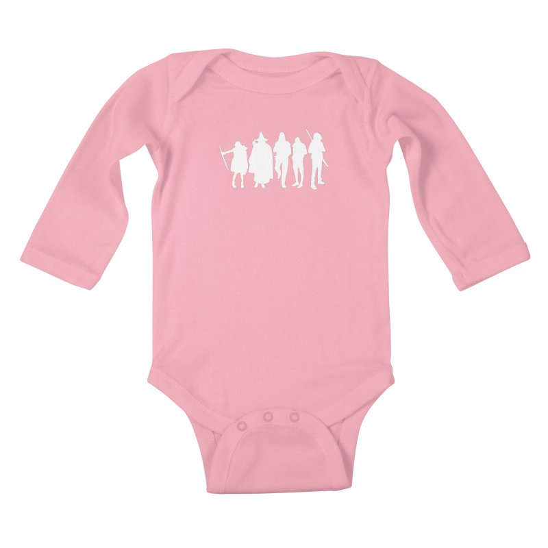 NeoScum Spirits Kids Baby Longsleeve Bodysuit by NeoScum Shop