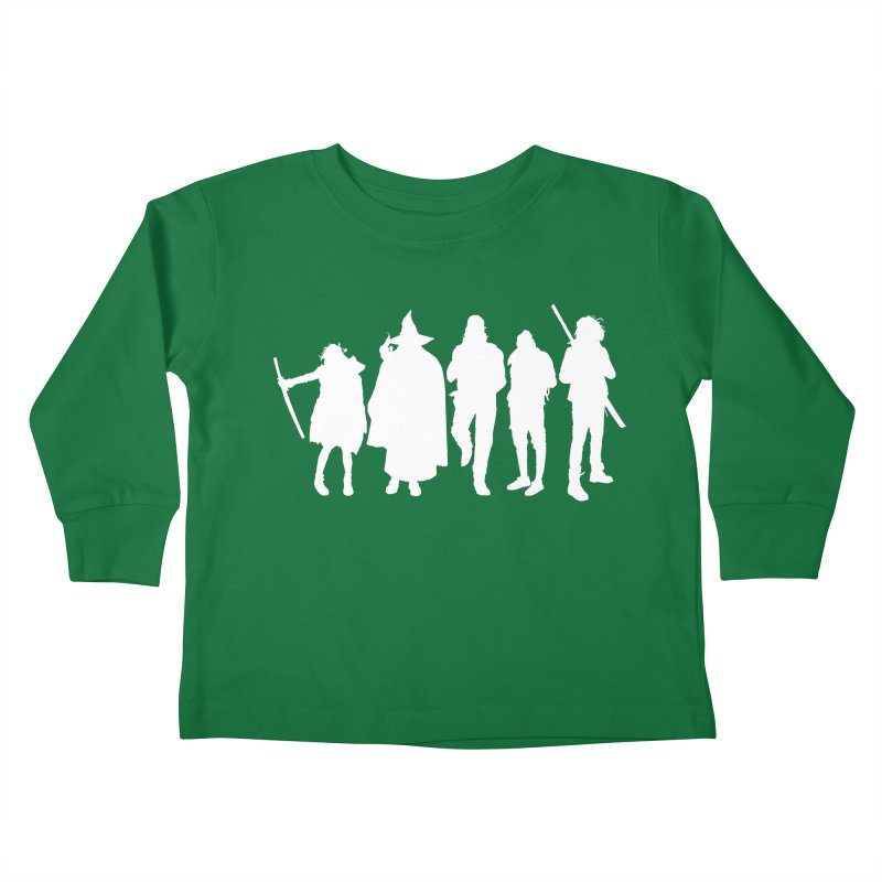 NeoScum Spirits Kids Toddler Longsleeve T-Shirt by NeoScum Shop