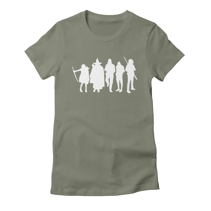 NeoScum Spirits Women's Fitted T-Shirt by NeoScum Shop