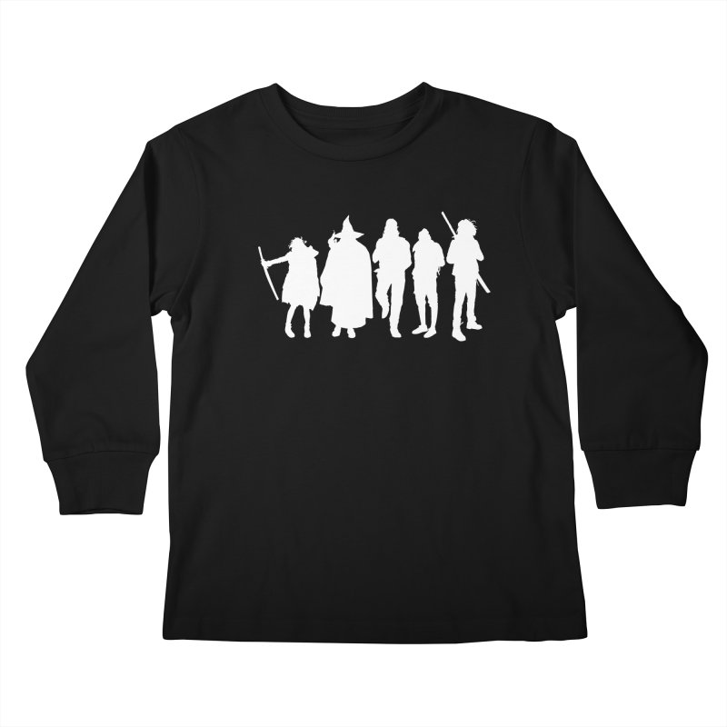 NeoScum Spirits Kids Longsleeve T-Shirt by NeoScum Shop