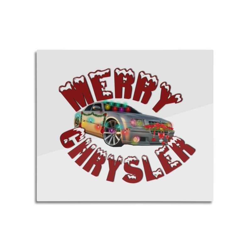 Neosdesign Merry Chrysler Home Mounted Aluminum Print