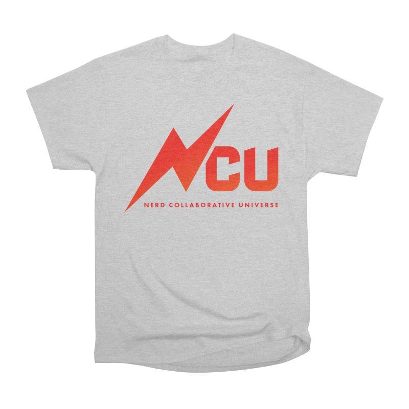 NCU Logo Women's Heavyweight Unisex T-Shirt by The Nerd Collaborative Universe
