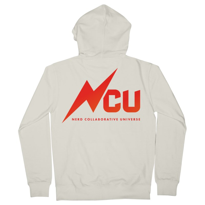 NCU Logo Women's French Terry Zip-Up Hoody by The Nerd Collaborative Universe