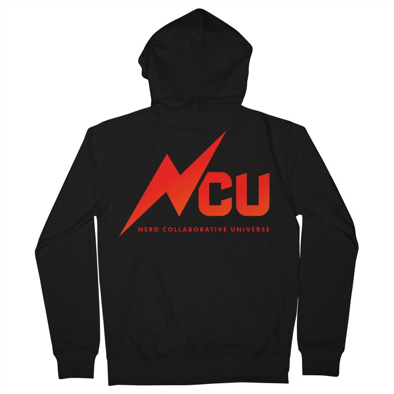NCU Logo Men's French Terry Zip-Up Hoody by The Nerd Collaborative Universe