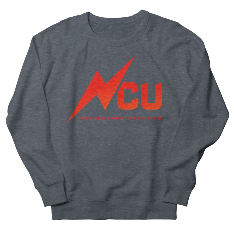 NCU Logo Men's French Terry Sweatshirt by The Nerd Collaborative Universe