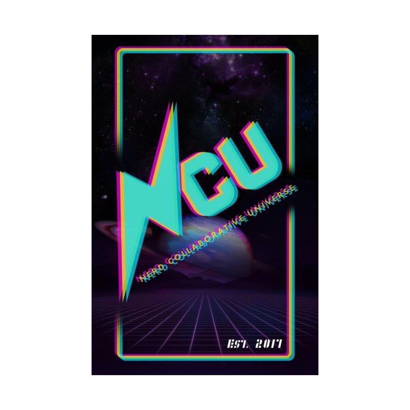 Retro NCU Poster by The Nerd Collaborative Universe