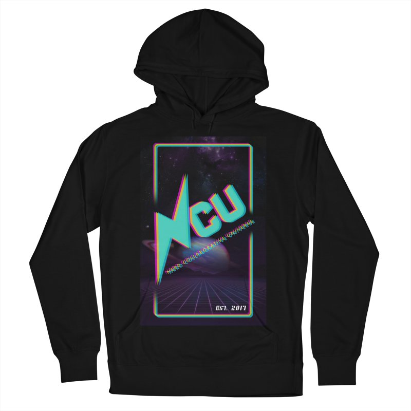 Retro NCU Poster Men's French Terry Pullover Hoody by The Nerd Collaborative Universe