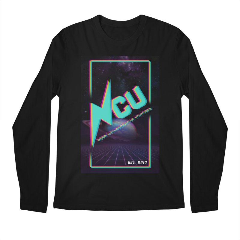 Retro NCU Poster Men's Regular Longsleeve T-Shirt by The Nerd Collaborative Universe