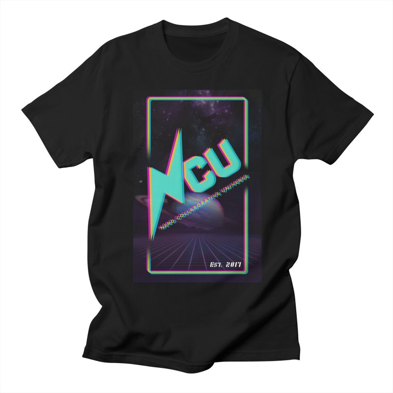 Retro NCU Poster Men's Regular T-Shirt by The Nerd Collaborative Universe