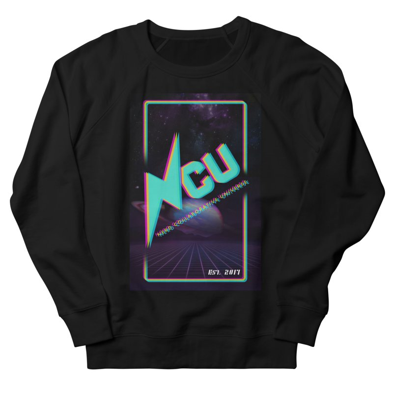 Retro NCU Poster Men's French Terry Sweatshirt by The Nerd Collaborative Universe