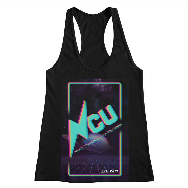 Retro NCU Poster Women's Racerback Tank by The Nerd Collaborative Universe