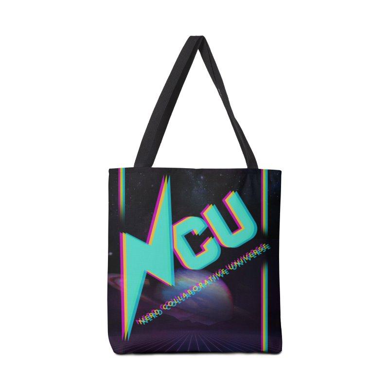 Retro NCU Poster Accessories Tote Bag Bag by The Nerd Collaborative Universe