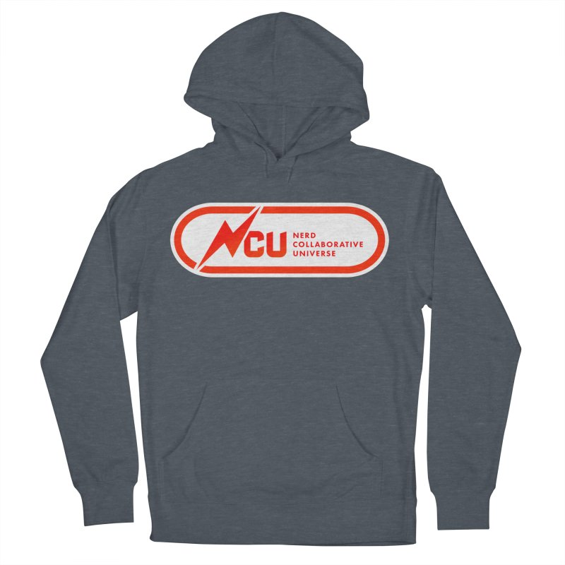 NCU Classic Men's French Terry Pullover Hoody by The Nerd Collaborative Universe