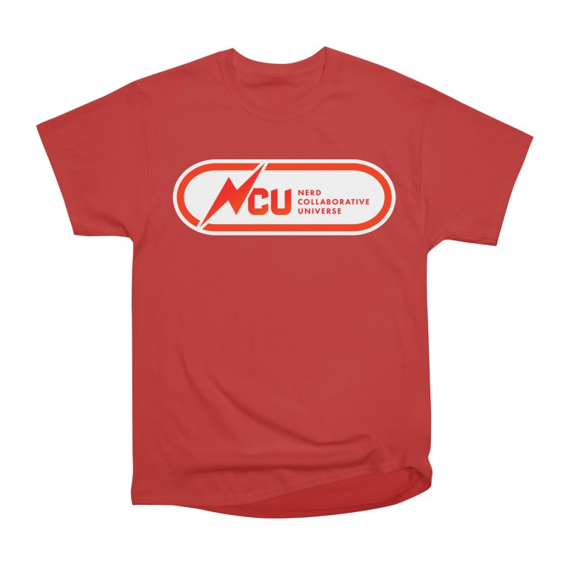 NCU Classic Women's Heavyweight Unisex T-Shirt by The Nerd Collaborative Universe