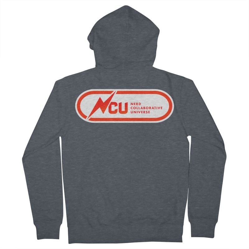 NCU Classic Women's French Terry Zip-Up Hoody by The Nerd Collaborative Universe