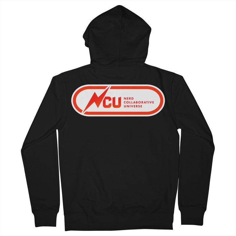 NCU Classic Men's French Terry Zip-Up Hoody by The Nerd Collaborative Universe