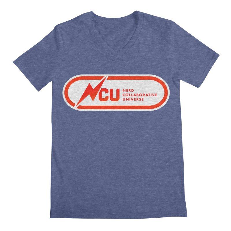 NCU Classic Men's Regular V-Neck by The Nerd Collaborative Universe