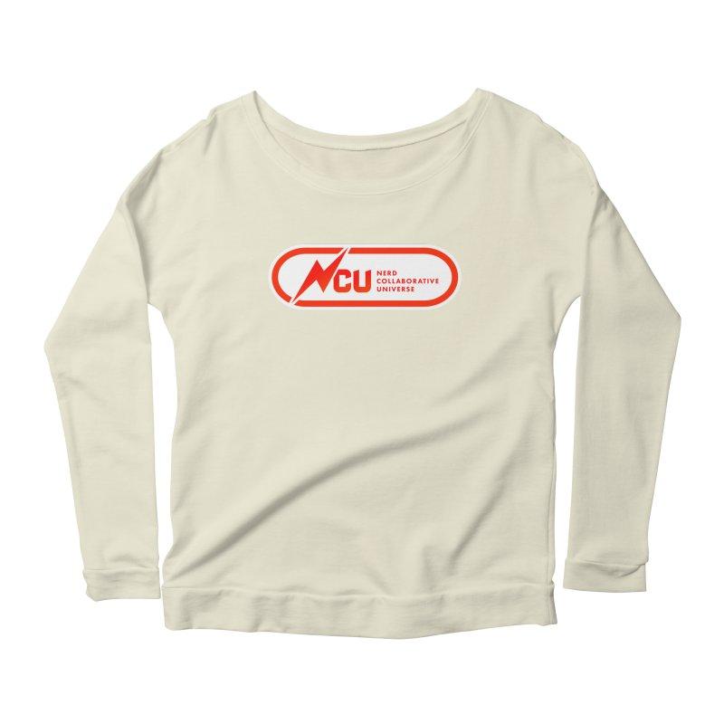 NCU Classic Women's Scoop Neck Longsleeve T-Shirt by The Nerd Collaborative Universe