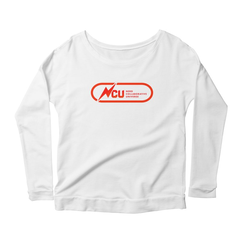 NCU Classic Women's Scoop Neck Longsleeve T-Shirt by The Nerd Collaborative Universe