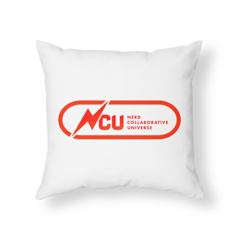 NCU Classic Home Throw Pillow by The Nerd Collaborative Universe