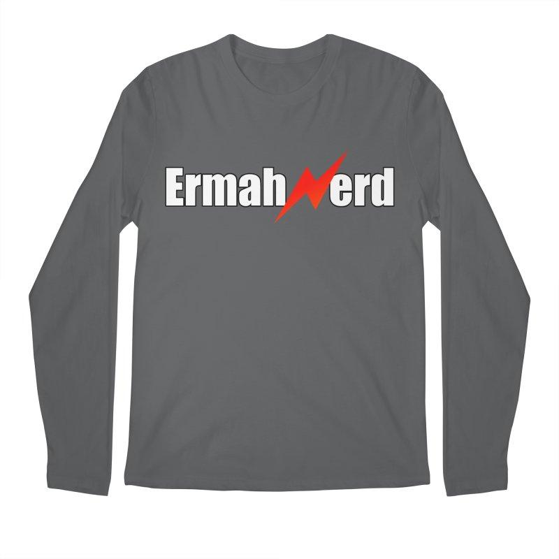 ERMAHNERD Men's Regular Longsleeve T-Shirt by The Nerd Collaborative Universe