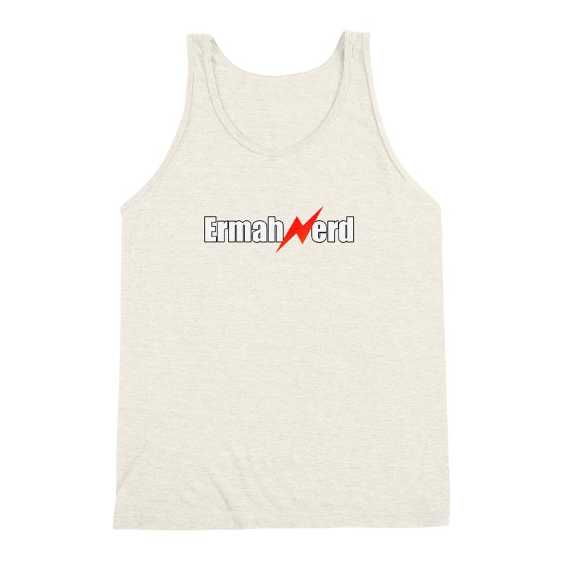 ERMAHNERD Men's Triblend Tank by The Nerd Collaborative Universe
