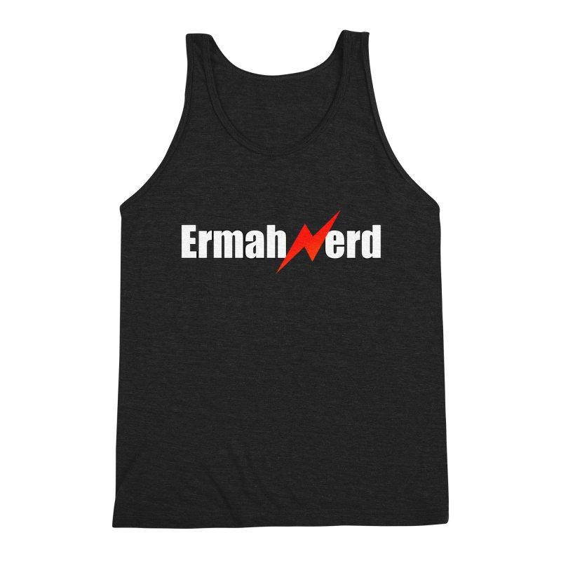 ERMAHNERD Men's Triblend Tank by The Nerd Collaborative Universe