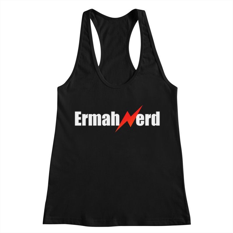 ERMAHNERD Women's Racerback Tank by The Nerd Collaborative Universe