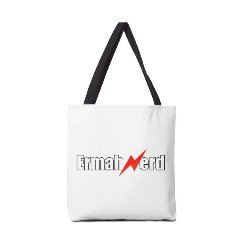 ERMAHNERD Accessories Tote Bag Bag by The Nerd Collaborative Universe