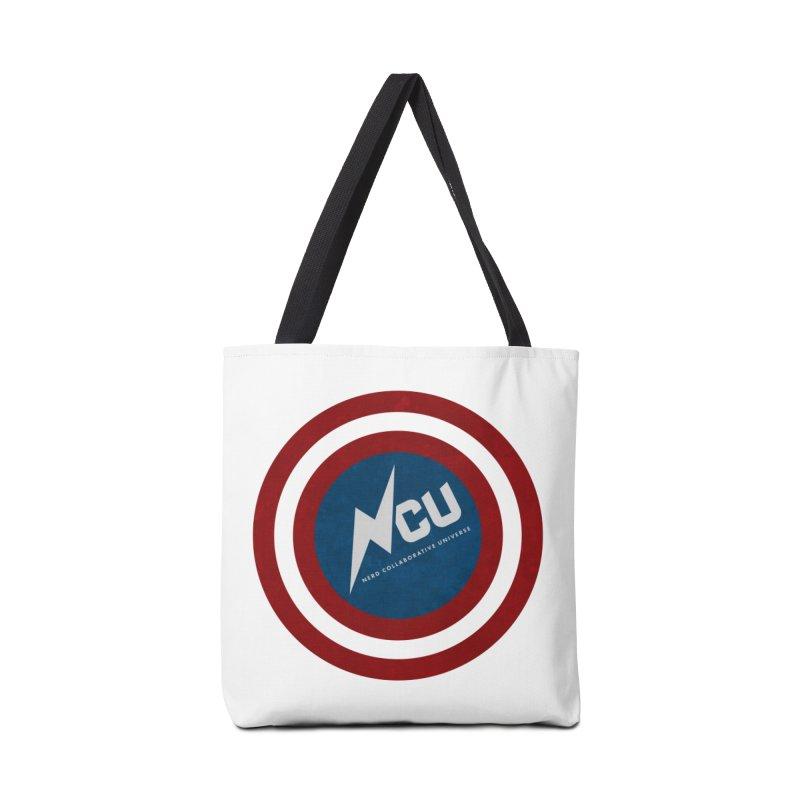 NCU Shield Accessories Tote Bag Bag by The Nerd Collaborative Universe