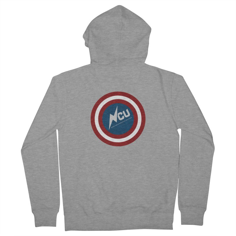 NCU Shield Women's French Terry Zip-Up Hoody by The Nerd Collaborative Universe
