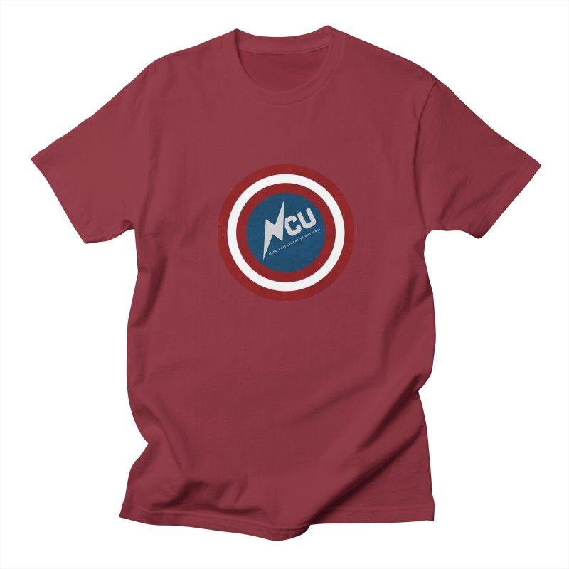 NCU Shield Men's Regular T-Shirt by The Nerd Collaborative Universe