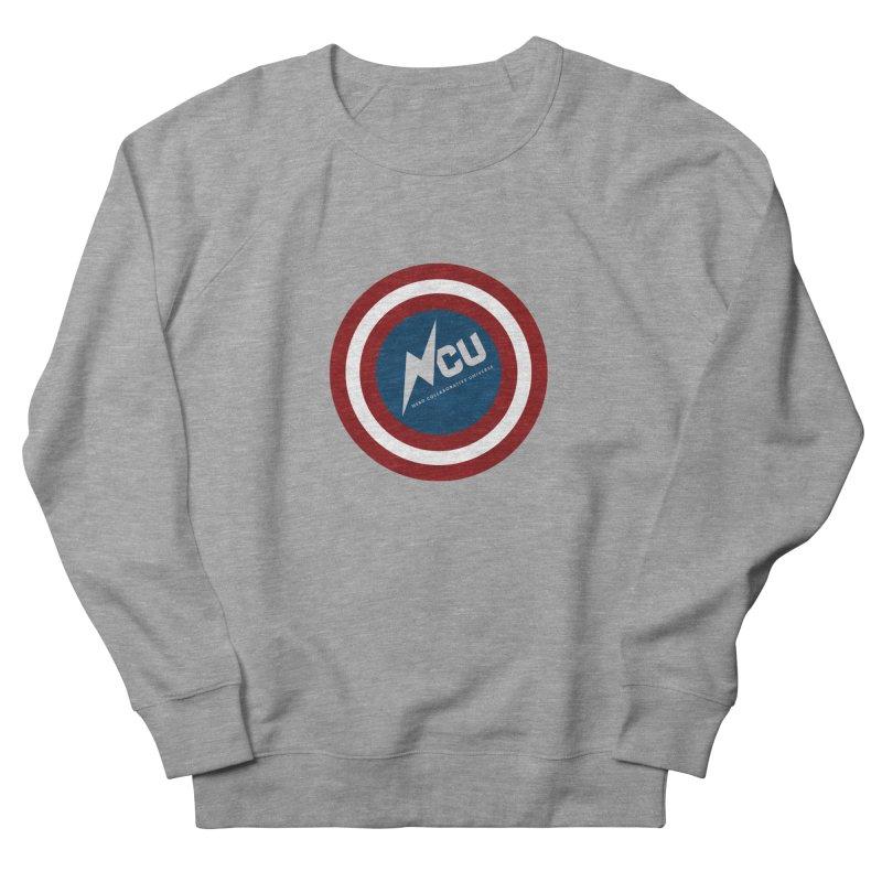 NCU Shield Women's French Terry Sweatshirt by The Nerd Collaborative Universe