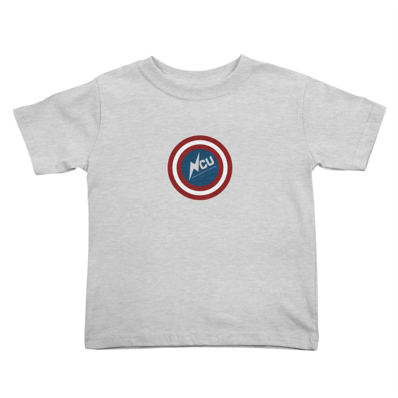 NCU Shield Kids Toddler T-Shirt by The Nerd Collaborative Universe