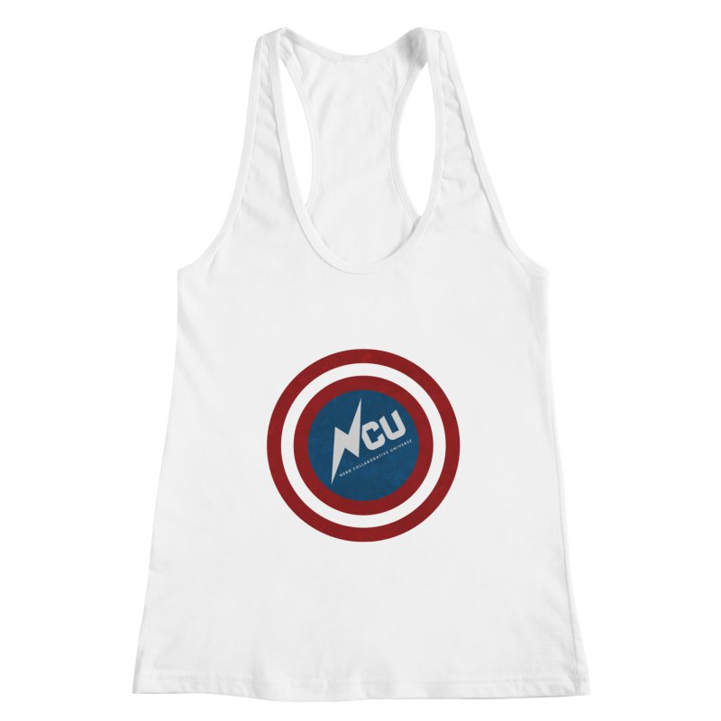 NCU Shield Women's Racerback Tank by The Nerd Collaborative Universe