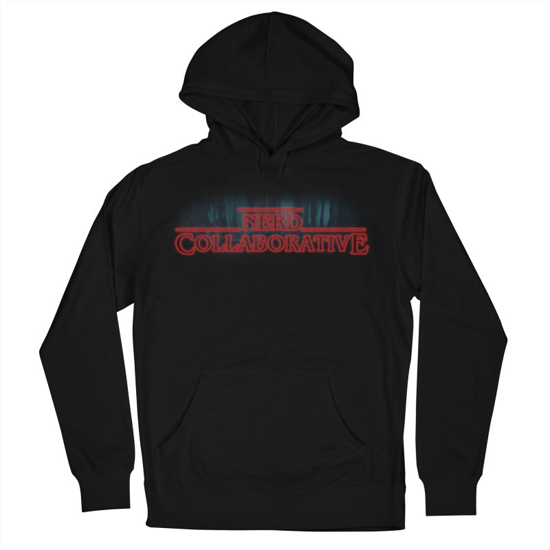 Stranger Nerd Men's French Terry Pullover Hoody by The Nerd Collaborative Universe