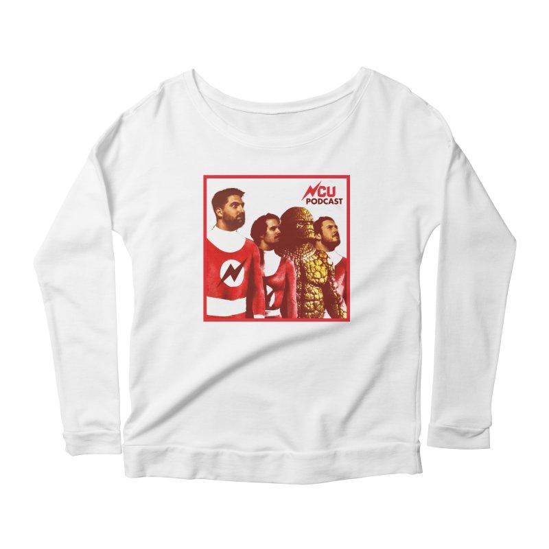 Podtastic 4 Women's Scoop Neck Longsleeve T-Shirt by The Nerd Collaborative Universe