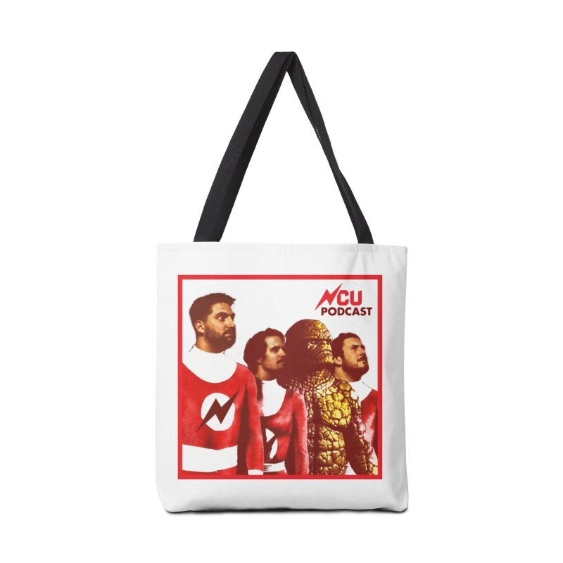 Podtastic 4 Accessories Tote Bag Bag by The Nerd Collaborative Universe