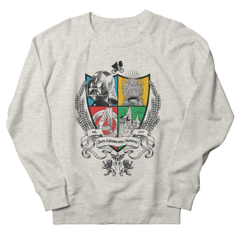 Nerd Crest Men's French Terry Sweatshirt by The Nerd Collaborative Universe