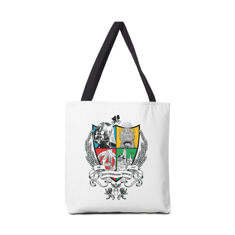 Nerd Crest Accessories Tote Bag Bag by The Nerd Collaborative Universe